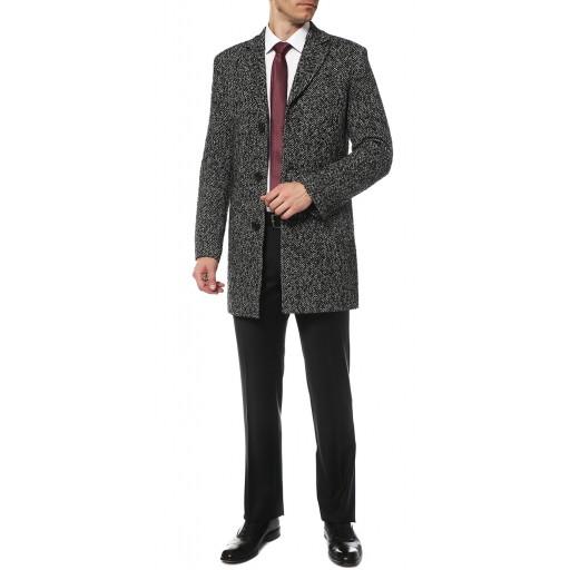 Пальто однобортное мужское -кромби демисезонное  Твид3018