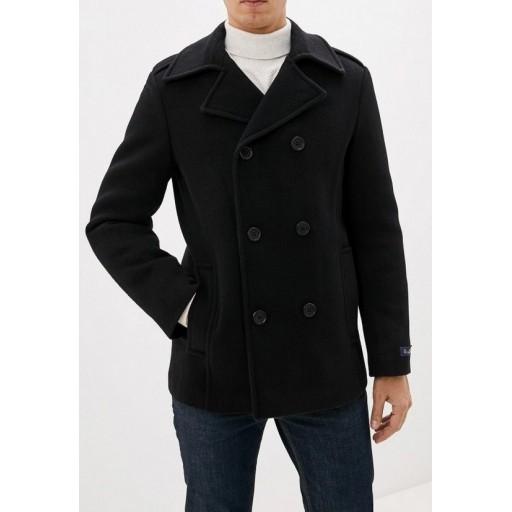 Пальто двубортное зимнее А73