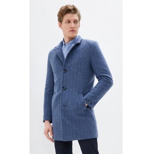 Пальто мужское , воротник стойка из итальянского кашемира Е532
