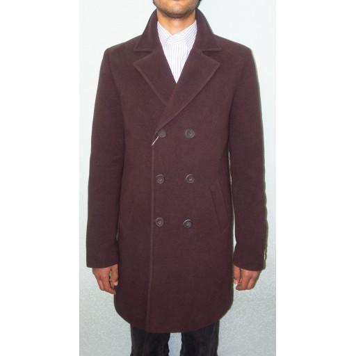 Пальто мужское двубортное Маррона27