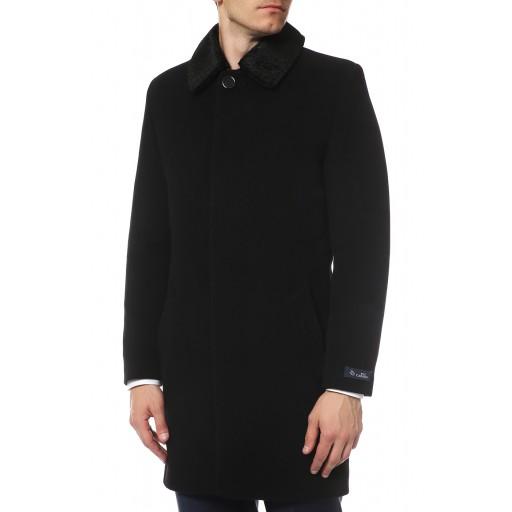 Пальто 3/4 мужское с глухим воротником  А153