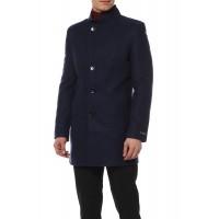 Пальто на синтепоне с воротником-стойкой Ирбис
