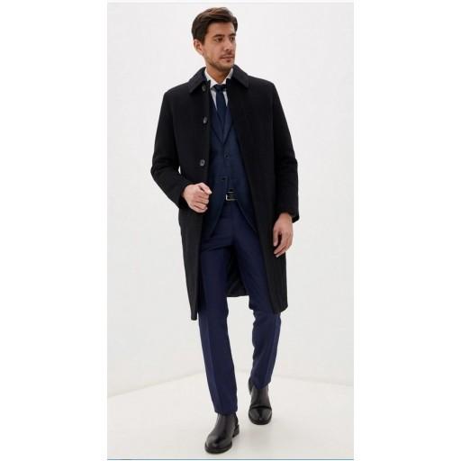 Пальто однобортное мужское длинное А16