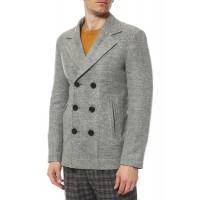 Пальто двубортное демисезонное , классическое Дс05