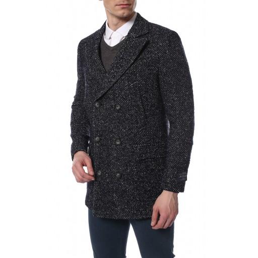 Пальто мужское двубортное  Кемпас