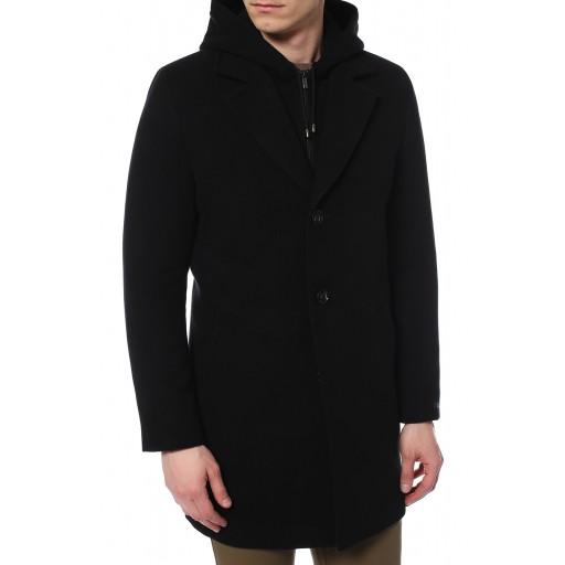 Пальто зимнее с жилетом из искусственного меха Хьюстон43